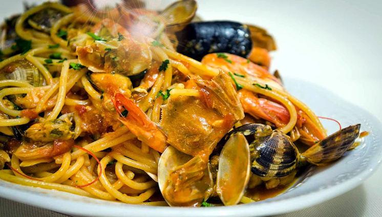 spaghetto allo scoglio piatto Stefano Capone