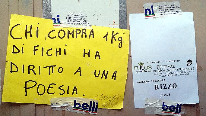 Festival del Moscato e dello spumante del parco del Cilento cartelli di Emilio Rizzo