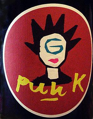 g punk etichetta fronte