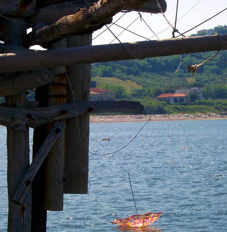 l'angolino da Filippo san vito chietino ombrellone in mare