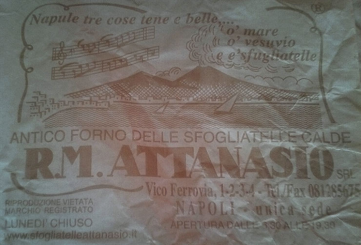 pizza arte sfogliatelle antico forno attanasio