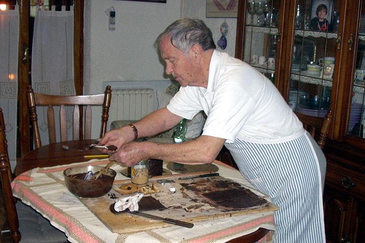 intervista con il gelataio Antonio Trivelli mostaccioli