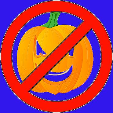 halloween non mi piace zucca