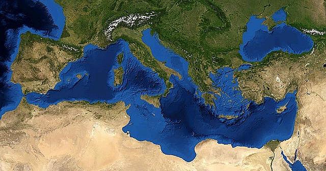 gusto del mediterraneo mappa