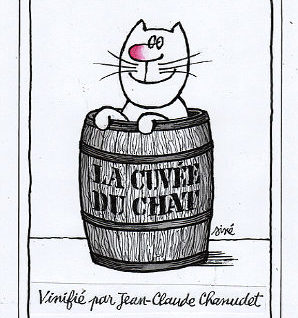 la cuvée du chat etichetta