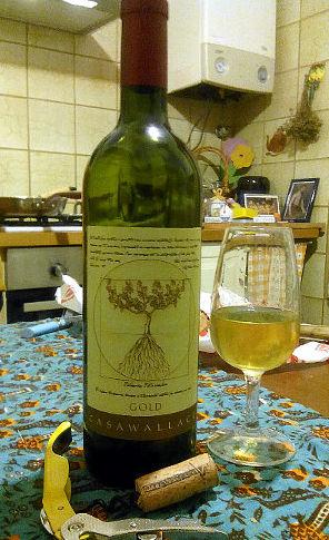 Casa Wallace gold 2013 bottiglia