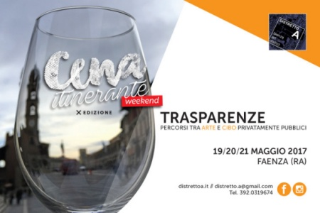 Cena itinerante weekend mini