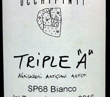 SP68 bianco etichetta