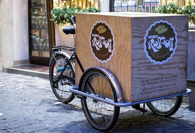 antico forno roscioli roma triciclo