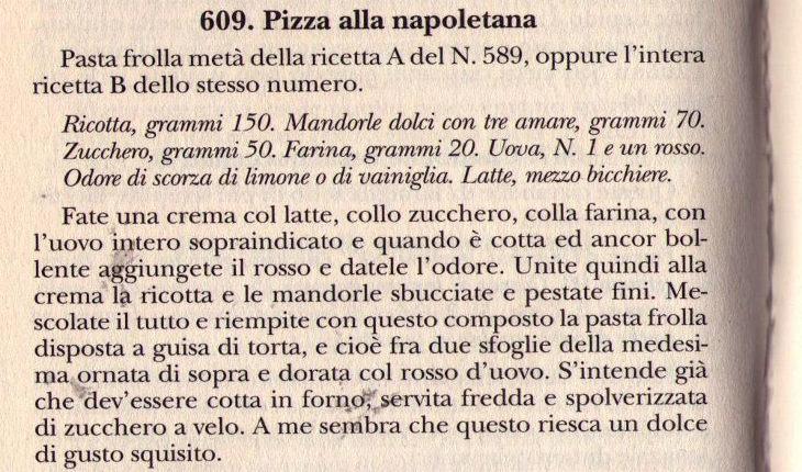 La riconoscibilità della pizza pellegrino artusi