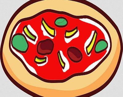 pizza morbida e croccante