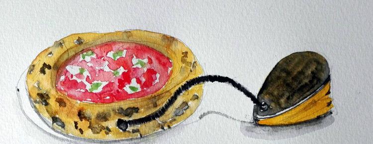 Piccolo buco pizza a canotto william trivelli