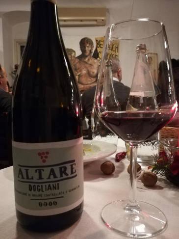 Dogliani 2015 Nicholas Altare bottiglia