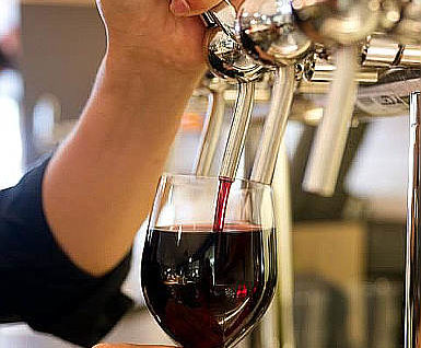 Non mi piace il vino alla spina spillatura