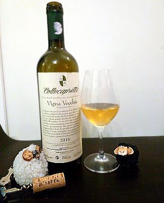 Vigna Vecchia 2016 bottiglia e calice