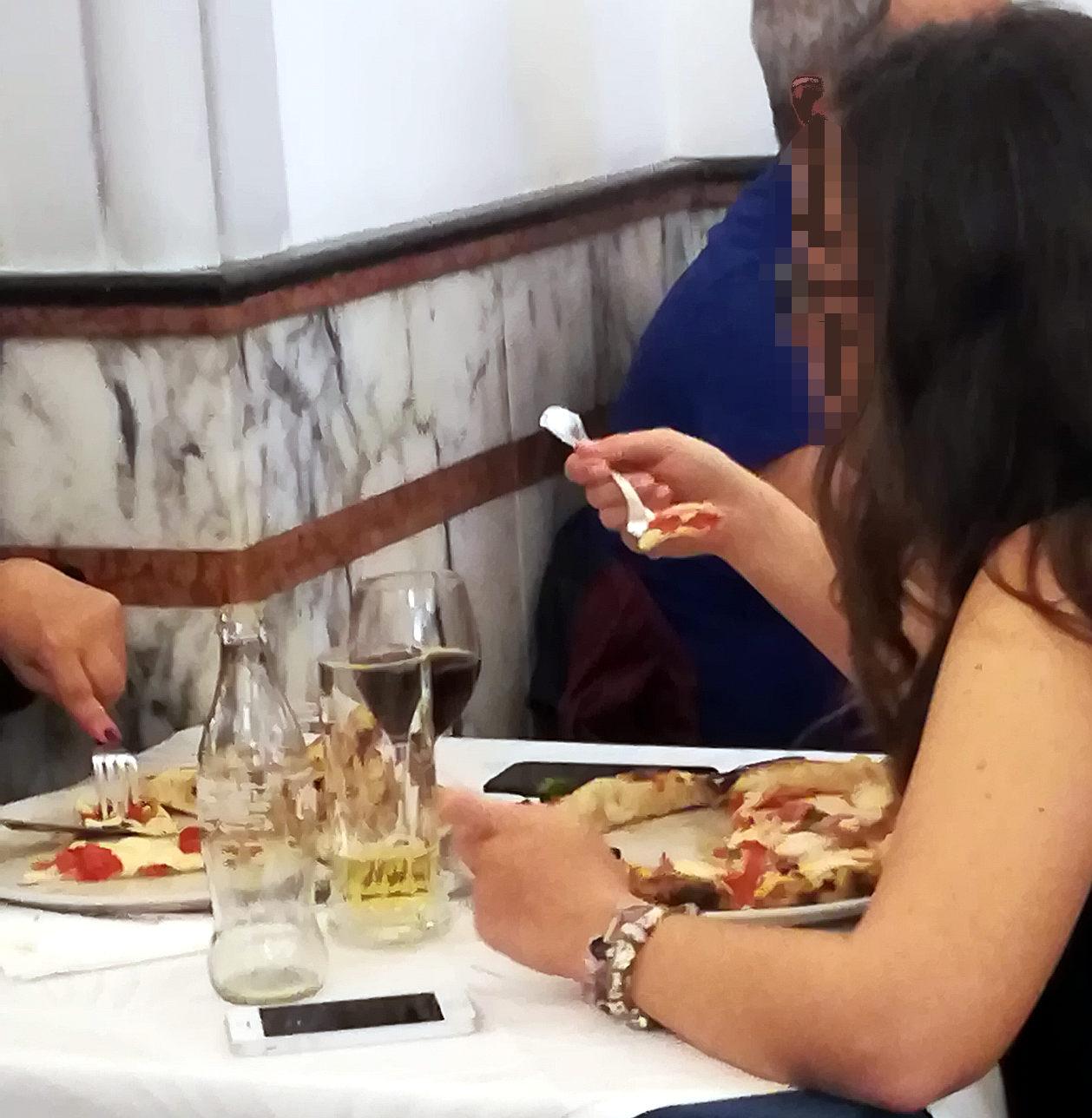 Pizzeria Gorizia 1916 cornicione pizza