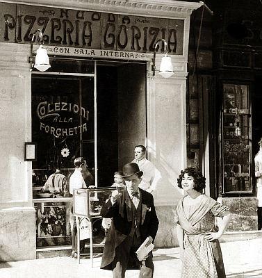 Pizzeria Gorizia 1916 foto depoca