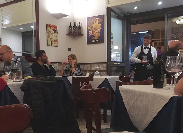 Pizzeria Gorizia 1916 interno
