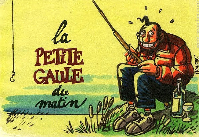 La Petite Gaule du Matin frantz saumon etichetta