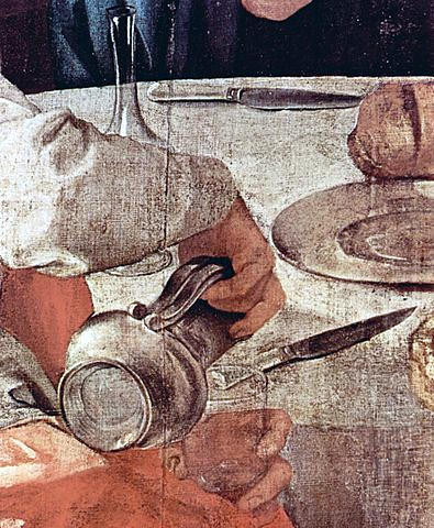 la frittata del Pontorno Jacopo pontormo