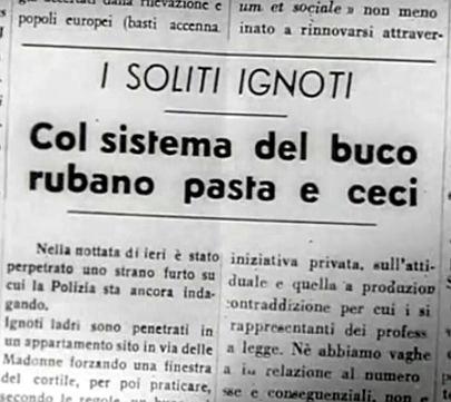 pasta e ceci alla romana giornale