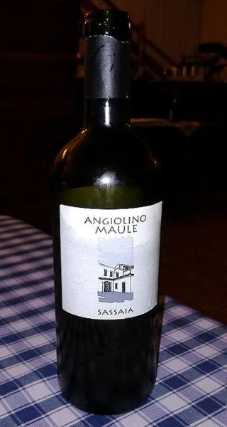 sassaia 2016 angiolino Maule etichetta fronte bottiglia
