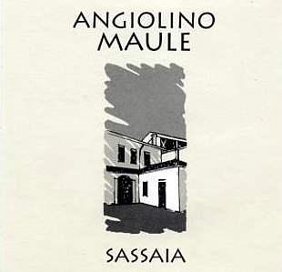 sassaia 2016 angiolino Maule etichetta fronte