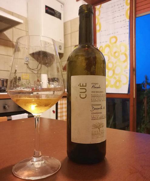 Cuè Cantina Marilina etichetta