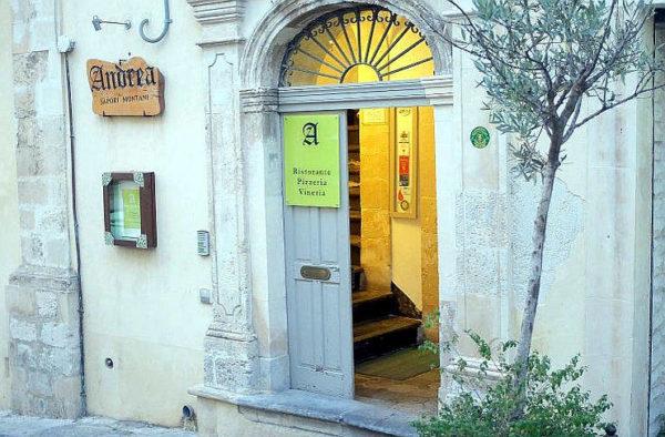 Andrea sapori montani palazzolo acreide ingresso ristorante