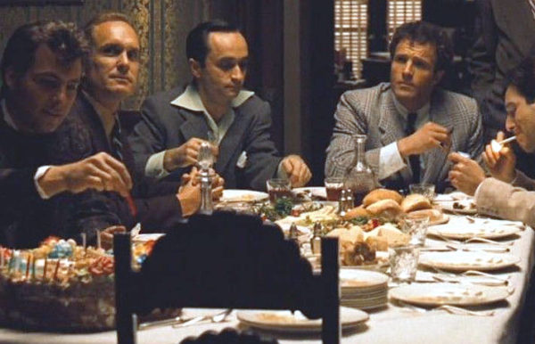 Il padrino e la cucina all'Italiana cena senza Marlon Brando