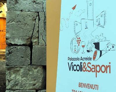 vicoli e sapori 2018 Palazzolo Acreide cartellone