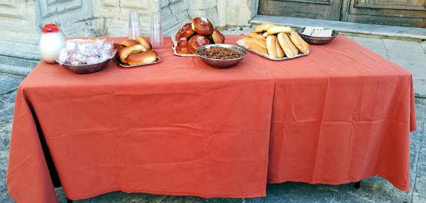 vicoli e sapori 2018 Palazzolo Acreide colazione siciliana