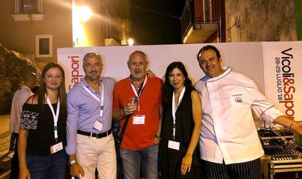 vicoli e sapori 2018 Palazzolo Acreide gruppo