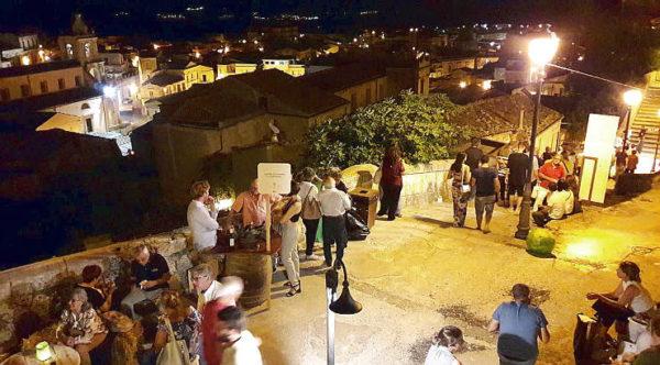 vicoli e sapori 2018 Palazzolo Acreide panorama serale