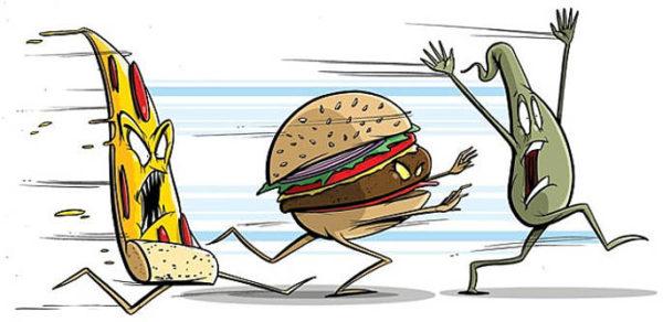 a proposito di critica gastronomica cibo in fuga