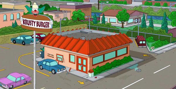 Homer il re dell'eccesso Krusty Burger mimmo Farina