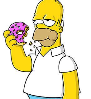 Homer il re dell'eccesso alimentare mimmo farina donuts