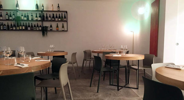 Cu_Cina ristorante Roma interno sala