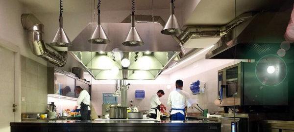 Cu_cina ristorante Roma Cucina a vista