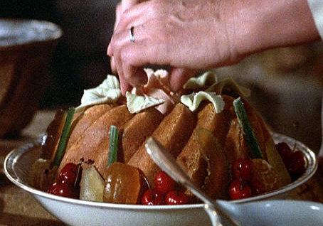 Il pranzo di babette Mimmo Farima preparazione dolce nel film