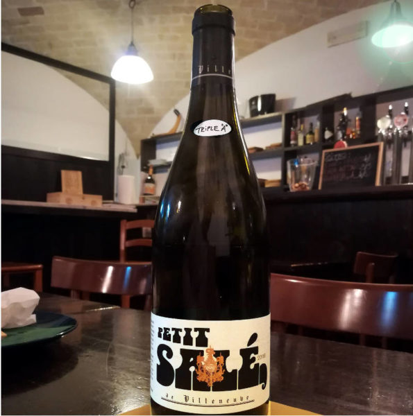 Petit Salé bottiglia triple A Serena Manzoni
