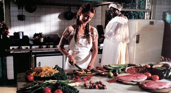 Per Incanto o Per Delizia penelope cruz in cucina