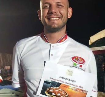 Francesco pone intervista al pizzaiolo emergente pizzachef 2018