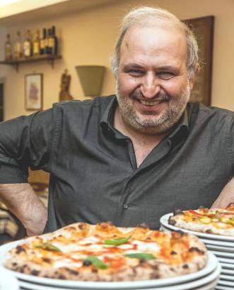 Giancarlo casa la gatta mangiona roma e le sue pizze
