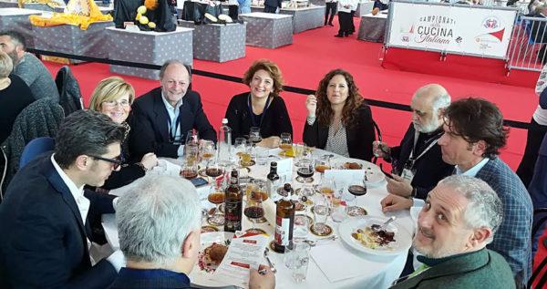 campionati italiani della cucina 2019 giuria al completo