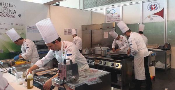 campionati italiani della cucina 2019 rimini chef al lavoro