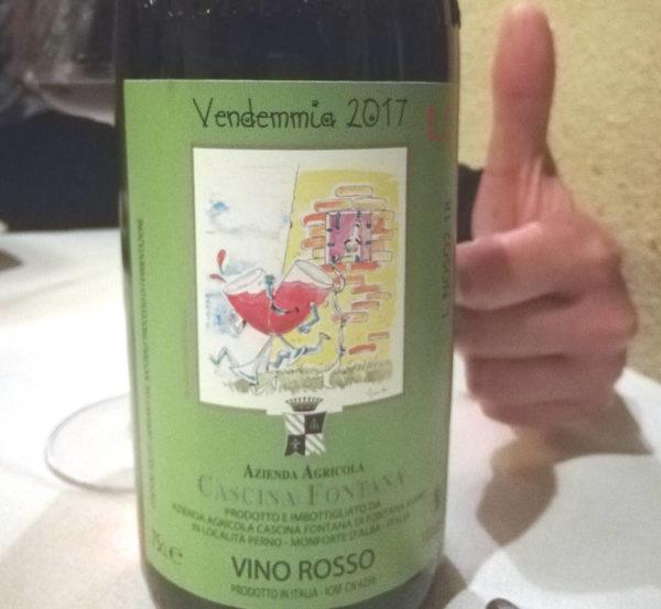 Cascina Fontana Vino rosso