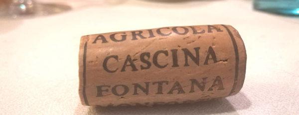 Cascina Fontana Vino rosso tappo di sughero