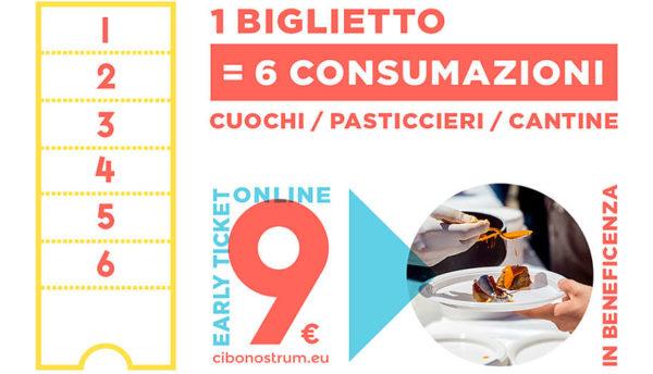 Considerazioni su Cibo Nostrum 2019 biglietto per consumazioni a Villa bellini