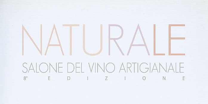Naturale 2019 salone del vino naturale logo